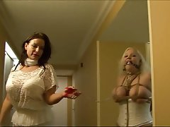 BBW BDSM Big Boobs Bondage Lingerie