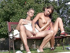 Lesbian Mature MILF Old and Young Teen