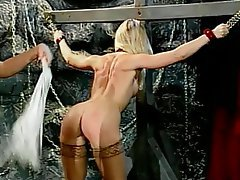BDSM Blonde Brunette Pantyhose Femdom