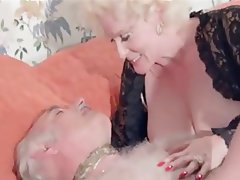 Anal Hairy Old and Young Threesome Vintage