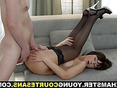Anal Blowjob Brunette Small Tits Teen