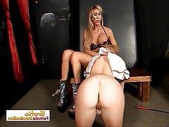 BDSM Big Boobs Bondage Lesbian Lingerie