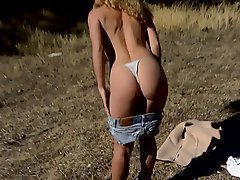 Big Boobs Blonde Masturbation Outdoor Teen
