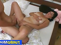 Mature MILF Czech Brunette Old and Young