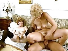 German Granny Old and Young Threesome Vintage