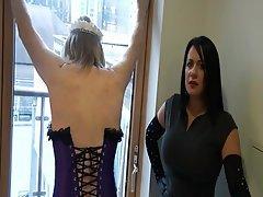 BDSM CFNM Femdom Mistress Spanking