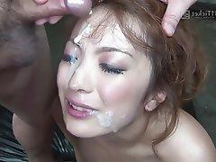 Asian Bukkake Creampie Group Sex Japanese