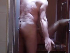 Amateur Arab Shower Fucking