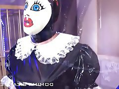 BDSM Bondage Latex Maid Mistress
