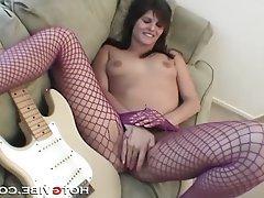 Brunette Masturbation Teen Pussy