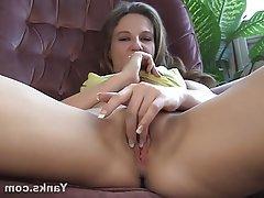 Amateur Blonde Masturbation Softcore