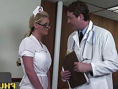 Anal Blonde Blowjob Doctor Hardcore