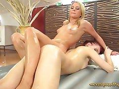 Czech Kissing Lesbian Massage Orgasm