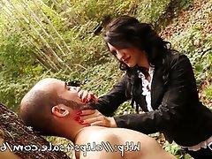 BDSM Brunette Femdom Italian Mistress