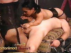 BDSM Femdom Mistress Spanking Strapon