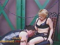 BDSM Femdom Latex Mistress Spanking