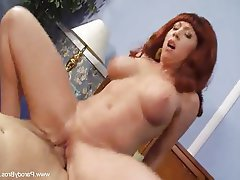 Big Boobs Mature MILF Redhead Wife