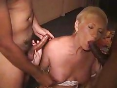 Amateur Mature Vintage Interracial Granny