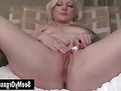Amateur Blonde Masturbation Orgasm