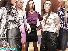 Babe Lesbian Stockings Glamour