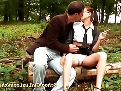 Anal French Outdoor