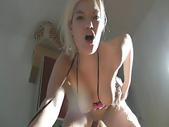 Blonde Creampie Cumshot German Interracial