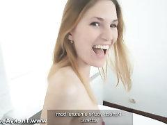 Amateur Babe Blowjob Casting Cumshot