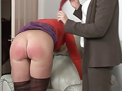 BDSM Blonde Mature MILF Spanking