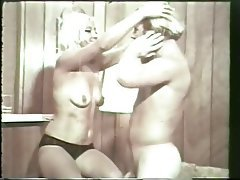 Blonde Blowjob Facial Hairy Vintage
