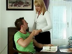 Blonde Cumshot Hardcore MILF Old and Young