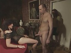 Gangbang Group Sex Hairy Mature Swinger