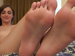 Brunette Foot Fetish Hairy Small Tits Softcore