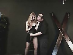 BDSM Old and Young Spanking