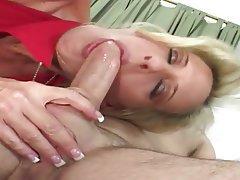 Big Butts Blonde Blowjob Facial MILF