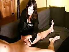 Cumshot Amateur German Webcam Handjob