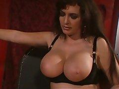 BDSM Big Boobs Brunette Femdom Pantyhose