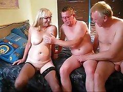 Consider, granny amateur threesome