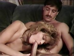 Blonde Blowjob Facial Pornstar Vintage
