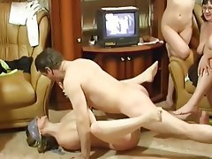 Group Sex Hardcore Old and Young Russian Swinger