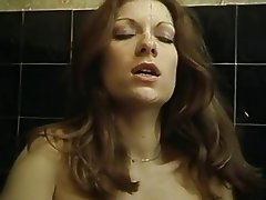 Blowjob Hairy Shower Stockings Vintage