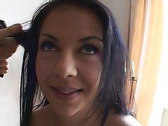 Anal Blowjob Big Boobs Brunette Facial