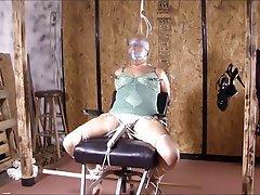 BBW Bondage Pantyhose Orgasm Stockings