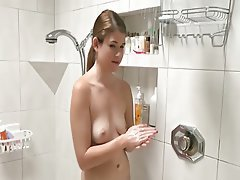 Babe Hairy Shower Softcore