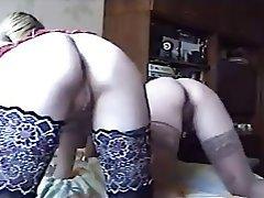 Group Sex Russian Swinger Stockings