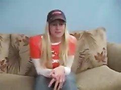 Amateur Babe Blonde Blowjob Webcam
