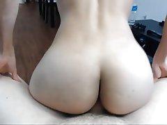 Amateur Blowjob Brunette POV Small Tits