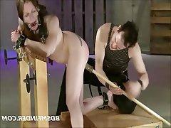 BDSM Bondage Hardcore Redhead Spanking