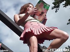 Amateur Babe Public Teen Upskirt