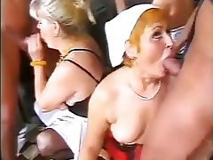 Granny Group Sex Mature Old and Young