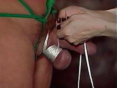 BDSM Threesome Brunette Femdom Latex